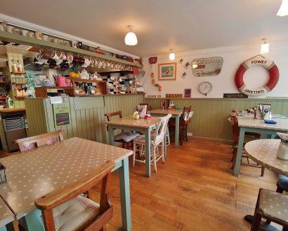 lifebuoy café, Fowey, Cornwall