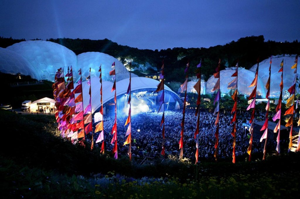 Eden Sessions at the Eden Project, Cornwall