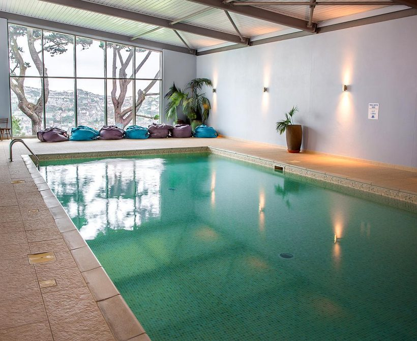 Fowey Hall Hotel's swimming pool